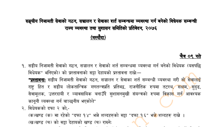 Sanghiya Nijamati Sewa Ain