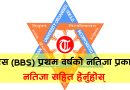 bbs first year result 2076