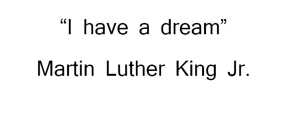 I have a dream summary