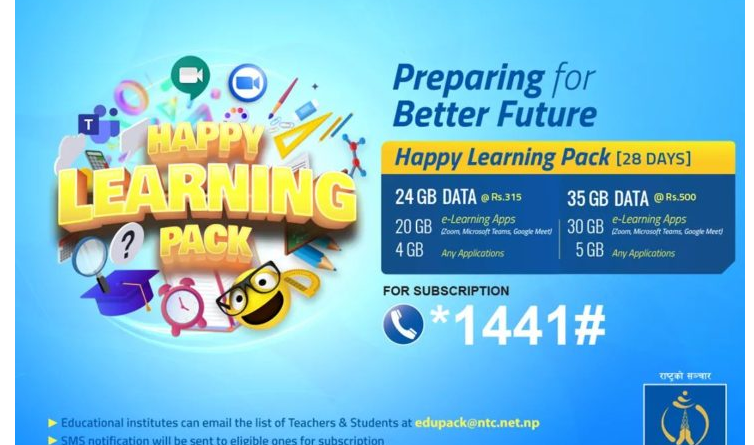 how to get Telecom's Happy Learning Pack for students and teachers ?