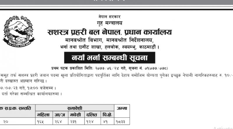 apf vacancy