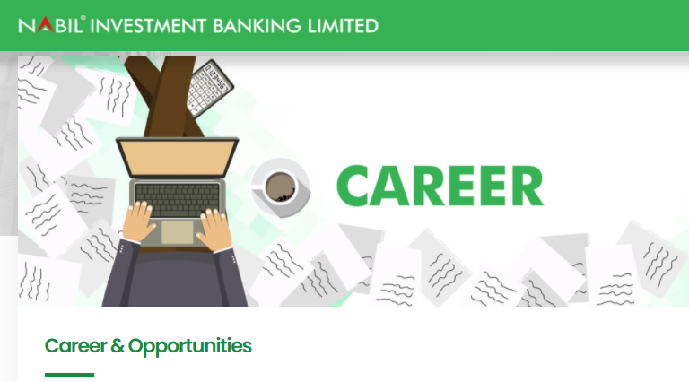 Nabil Investment Banking Vacancy
