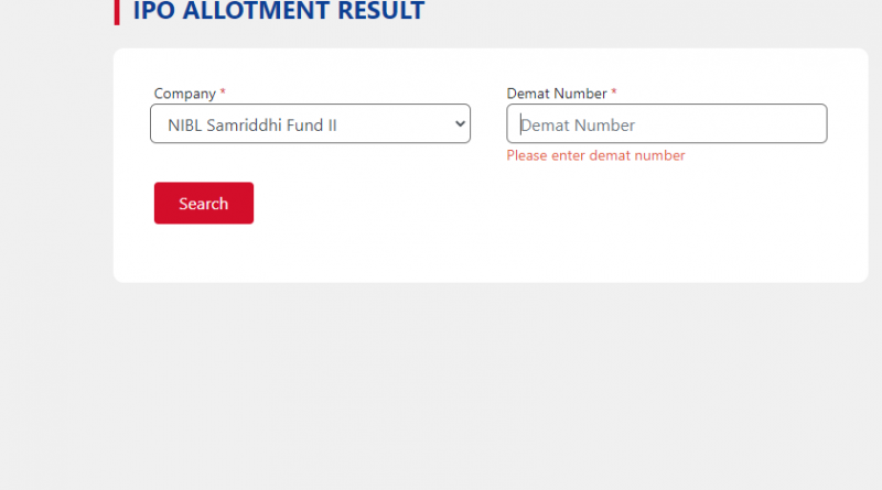 NIBL Samriddhi Fund - II IPO Results